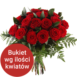 Bukiet 75 róż